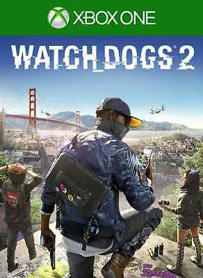 Watch_Dogs 2 Xbox One - Full Game Digital Download NO CODE NO DISC