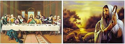 3D Picture - The Last Supper - New - Fast Shipping
