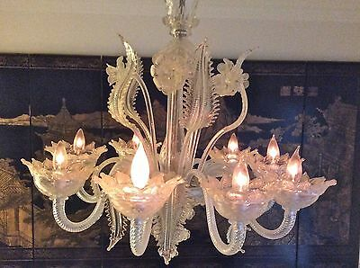 Murano Glass Chandelier 8 Arm in Kansas City Area for Pick Up