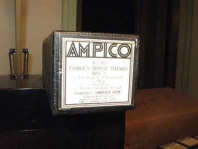 Famous Movie Themes No. 2 Four Songs Ampico Re-Cut Small Roll