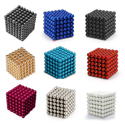 3/5mm 216pc Balls Magic Beads 3D Puzzle Ball Sphere Kid Best Toy
