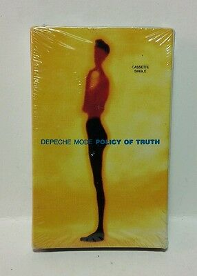 Depeche Mode policy Of Truth single Cassette tape EXCELLENT�� sealed