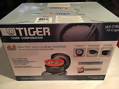 NEW Electric Rice Cooker/Warmer/Steamer - 10 Cups Multifunction CookerJAX-T18U