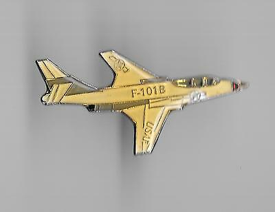 Vintage F-101 *B  Voodoo Fighter Aircraft old enamel pin