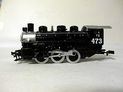 MAISTO BLACK TRAIN ENGINE #473  Rolls great