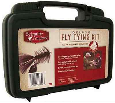 Scientific Angler Deluxe Fly Tying Tool Kit for Fishermen, and Fishing Crafters