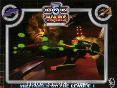 Agents of Gaming Babylon 5 Wars Militaries of the League 1 SC NM