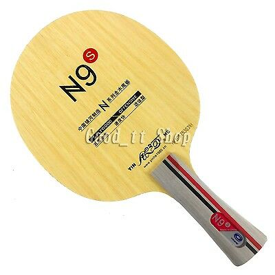 Galaxy N9s shakehand long handle FL Table Tennis Blade NEW