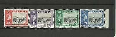 Uganda ~ 1962 Centenary Discovery Of Source Of The Nile (Mint Set Mh)