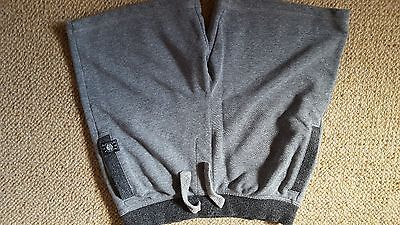 Boys soft grey shorts age 12