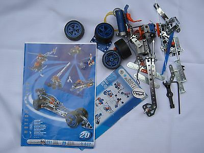 Meccano set 6520 MULTI-MODEL set Propeller & motor