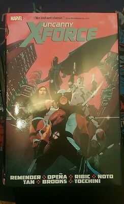 uncanny x-force omnibus - Signed by Remender & Opena