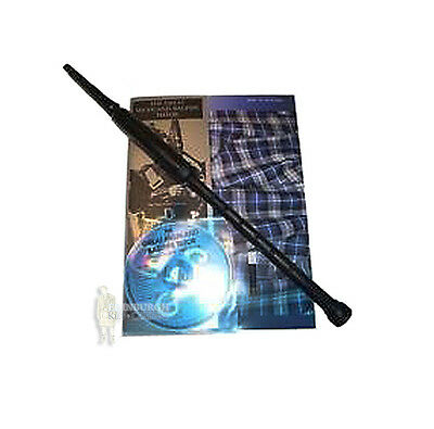 Highland Bagpipe - Plastic Chanter Tutor Kit - Made In Scotland - Great Gift!