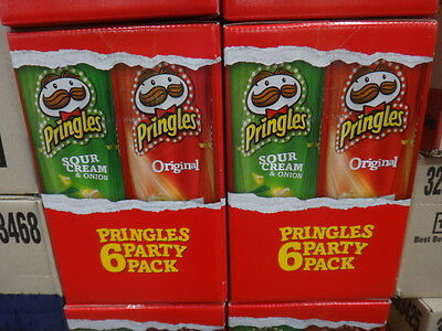 Pringles Party 6 Pack 6 x 134G