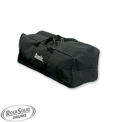 Sonix Padded Drum Kit Hardware Bag- Rubber Feet, Acessories Pouch  SUPERB VALUE