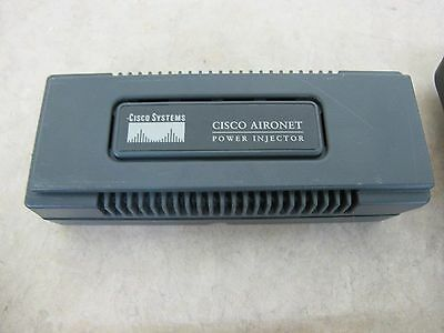 Cisco Aironet PoE Power Injector AIR-PWRINJ3 with Power Supply