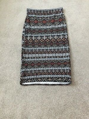 new look pencil skirt size 12