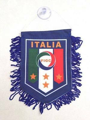 ITALY Flag Hanging Car Pennant for Car Window or Rearview Mirror Italian