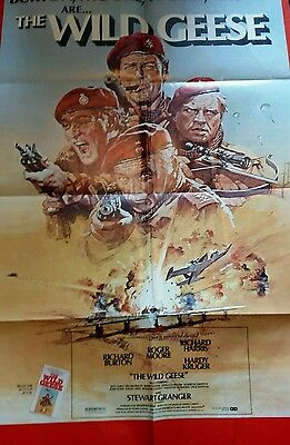 US Wild Geese poster