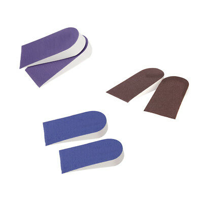 3 Pairs EVA Foam Heel Lift Taller Shoe Inserts Height Increase Insoles Pads