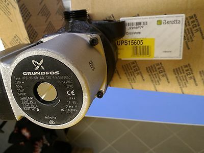 "Circulator Pump Grundfos Ups 15-60 Ao 1"" With Vent Pump Boiler 110W 15-65"