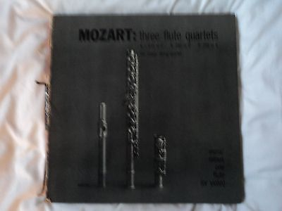 Mozart : Three Flute Quartets Ks631.Ks285.Ks298.~US pressing RARE ~MMO 106 VG/VG