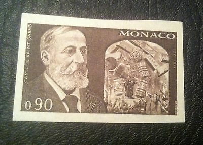 Monaco 1972 MNH Imperforated Color proof