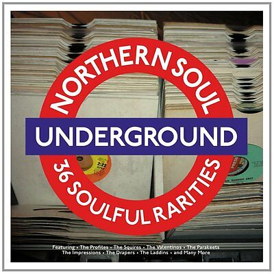 Northern Soul Underground - 36 Soulful Rarities (2LP Gatefold 180g Vinyl) NEW