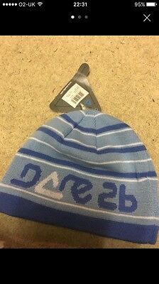 New With Tags - Girls Dare2b Blue Hat Age 11-13 Years