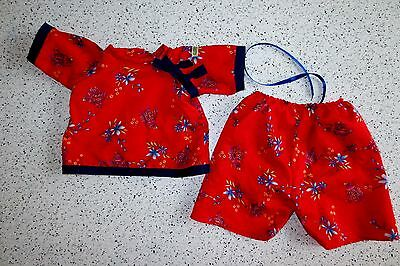 Cabbage Patch CLOTHES World Traveler China 2 Pc Outfit   Lot R3
