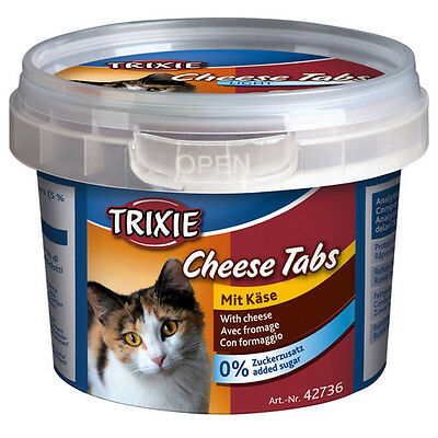 Trixie Cheese Onglets avec Fromage 75 g, Snack pour chats, NEUF