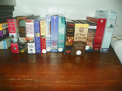 Huge Lot Of  13  Audiobooks On Cd  -Unabridged-- Clean Condition--Female Authors