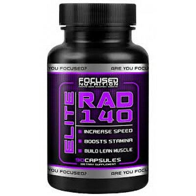 FOCUSED SARM RAD 140 90cps LEGAL PH  FREE SHIPMENT TO EU!!