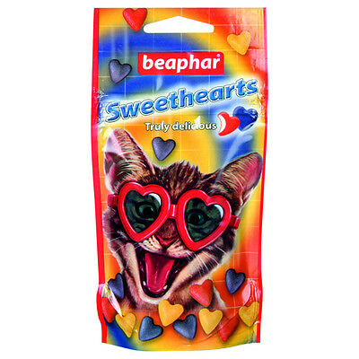 Beaphar Sweet Hearts, Snack pour chats, NEUF