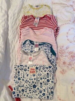 Baby Boden Baby girl's long sleeved bodies age 12-18 months