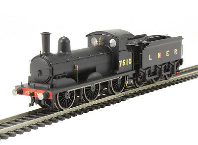 R3380 Hornby Black LNER 0-6-0 Class J15 7510 Locomotive - Brand New & Boxed UK