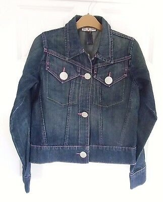 Jeans jacket for girls age 13 yrs