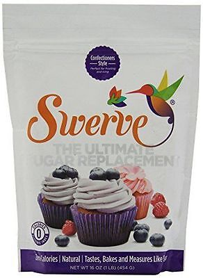NEW Swerve Sweetener Confectioners 16 Ounce