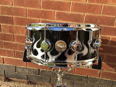 DW Collectors 14X6 Tribal flame Graphics Snare Drum