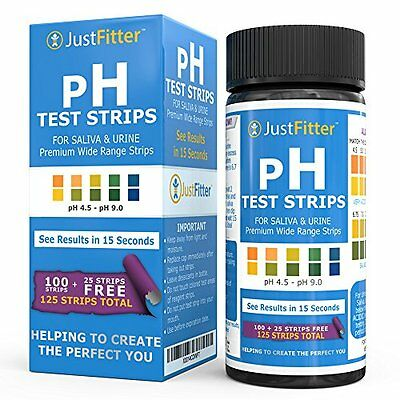 pH Test Strips for Testing Alkaline and Acid Levels in the Body. Track & Monitor
