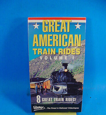 Pentrex Vhs Railroad Video Tape Vt166 Great American Train Rides Volume I