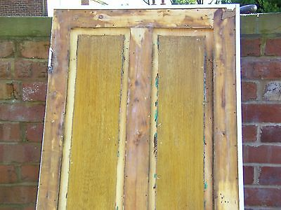 Four Panel Vintage Edwardian  Door