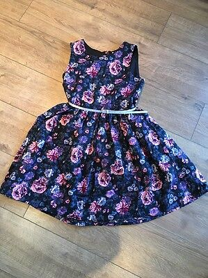 Gorgeous Girls Floral Party Dress Size 12-13 Years - H&M