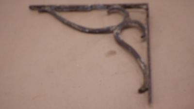 Antique Ornate Cast Iron Metal Shelf Brace Bracket ARCHITECTURAL SALVAGE  #6