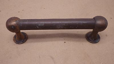 "Antique 5 5/8""  Copper  Drawer Pull Door Handle Furniture Part"