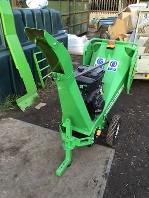 Greenmech CS 100 Wood Chipper 18hp version with Electric start
