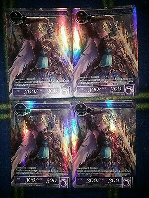 4x Jeanne d'Arc, Shadow Princess of Purity - PROMO - Force of Will