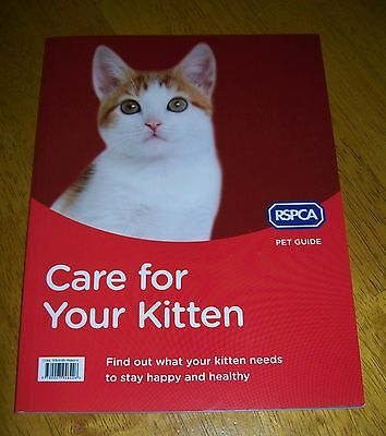 Rspca Pet Guide Care For Your Kitten Paper Back Book (Rspca  Edition)