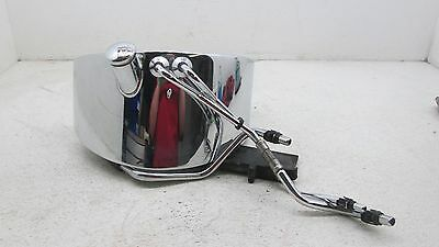 2003 Harley Heritage Softail Oil Tank Chrome Canister Lines