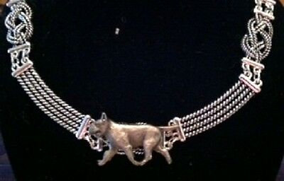 Bull Terrier Knot Necklace~dog jewelry~celtic~Infinity knot